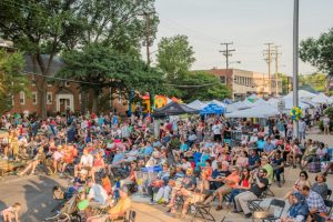 2018 Blues Festival Crowds